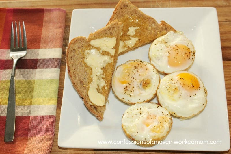 Easy Breakfast Recipe: Egg Cups