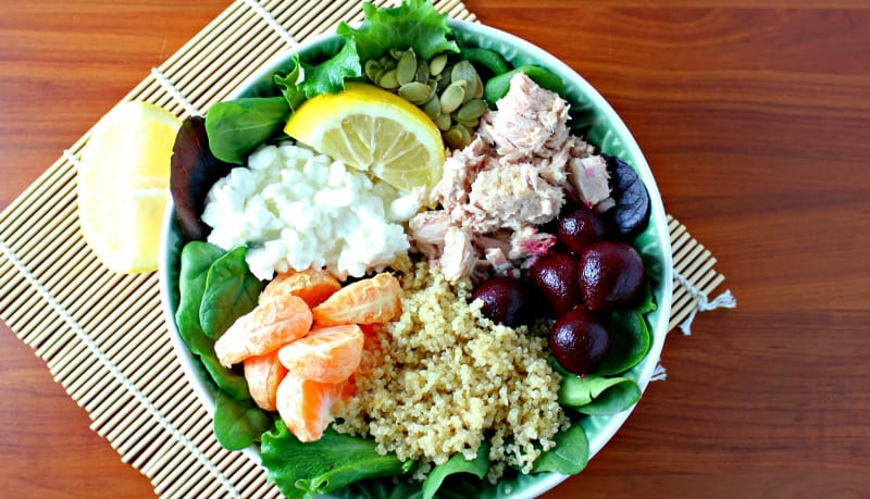How to Make an Easy Tuna Power Bowl